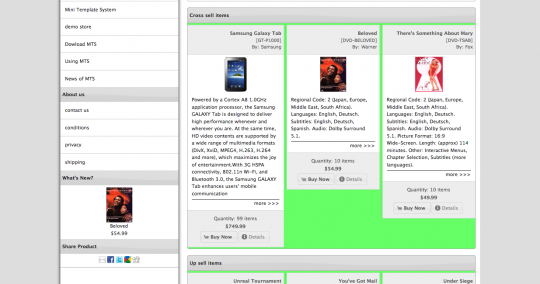 The problem: Boxes of different height in osCommerce product listing