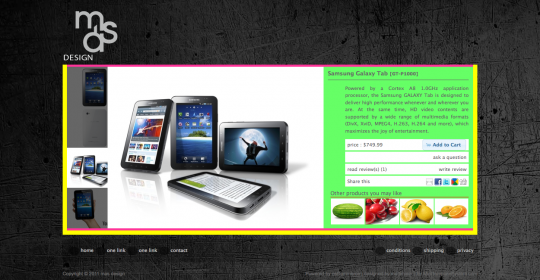 Related products on the product information page of osCommerce